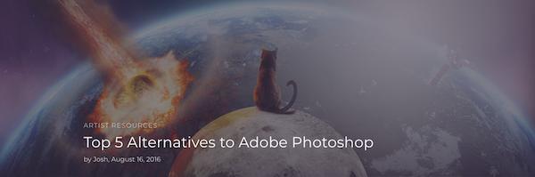 Alternativen zu Photoshop