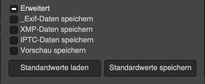 Gimp-Dateien exportieren