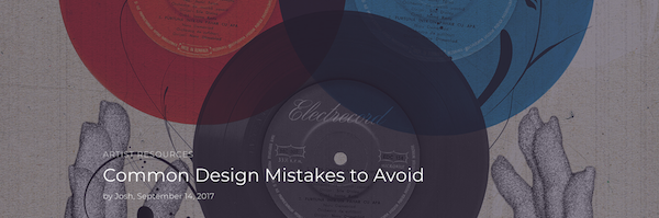 Fehler beim Designen