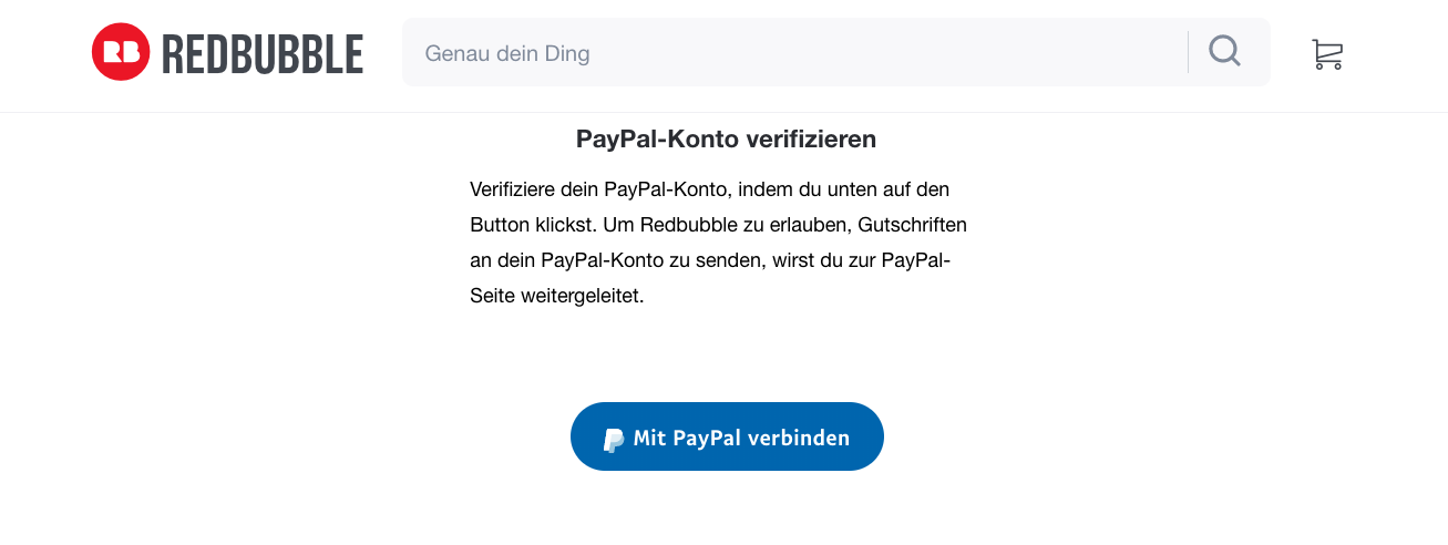 PayPal verifizieren